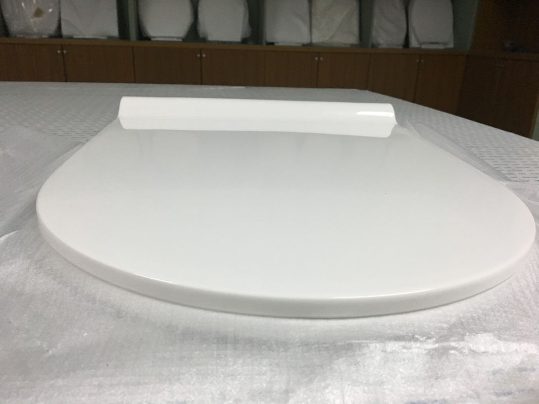 Ultra Thin O Type V Type WC Seat Cover Elongated Square Front Toilet Seat