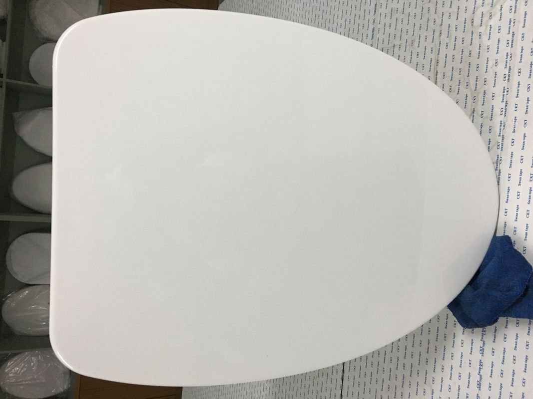 Various Color Oval Toilet Seat Lid Covers With Plastic Seal Diaphragm Packing