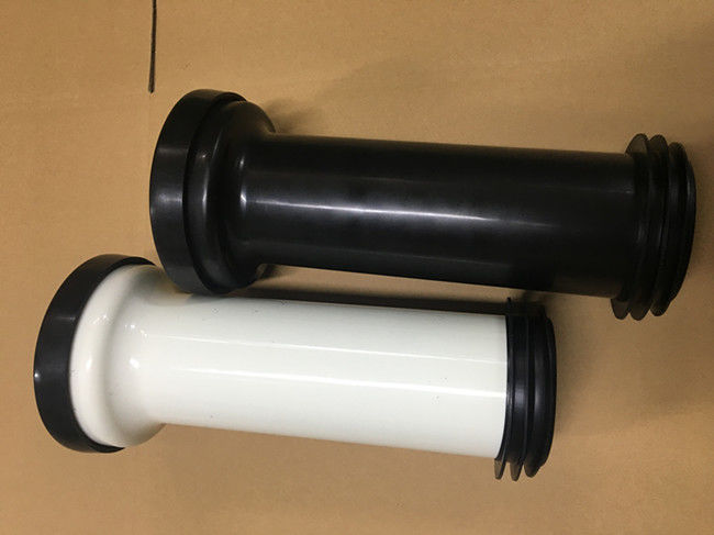 Wall Mounted Toilet Straight Pan Connector With Black And White Optional