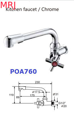 "G1/2"" Contemporary Plastic Wall Basin Toilet Hand Faucet  Easy Installation With Water Saver Design and Water Filfer"